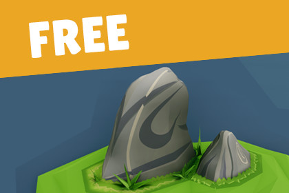 FREE - Rock Pack for Environment