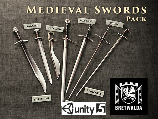 Medieval Swords Pack