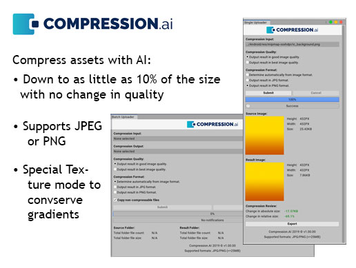 Asset Compression using Machine Learning