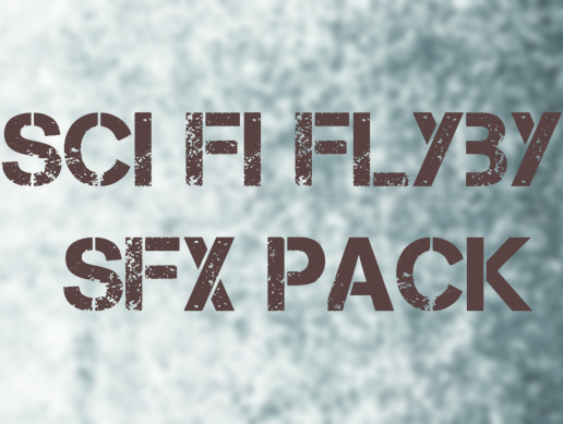 SCI-FI FLYBY SFX PACK