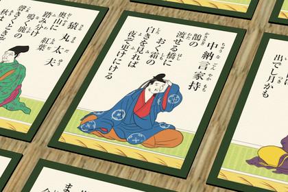 Ogura Hyakunin Isshu - The cards of Japanese Waka