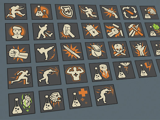 Skill and Potions Icon pack