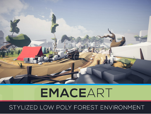 Low Poly Nature Project - Forest Meadows Pack Stylized Edition