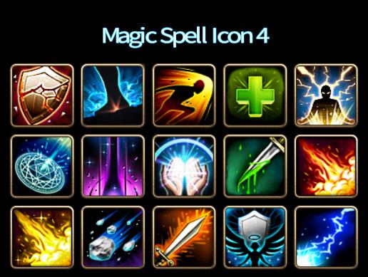 Magic Spell Icon 4