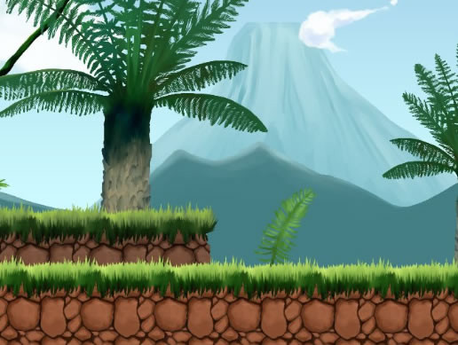 2D Jungle Side-Scrolling Platformer Pack