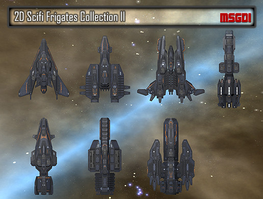 2D Frigates Collection II