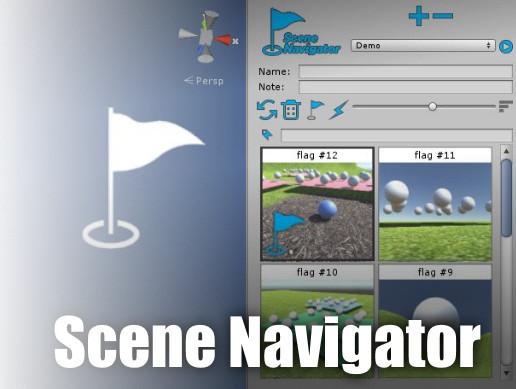 Scene Navigator - flag markers utility