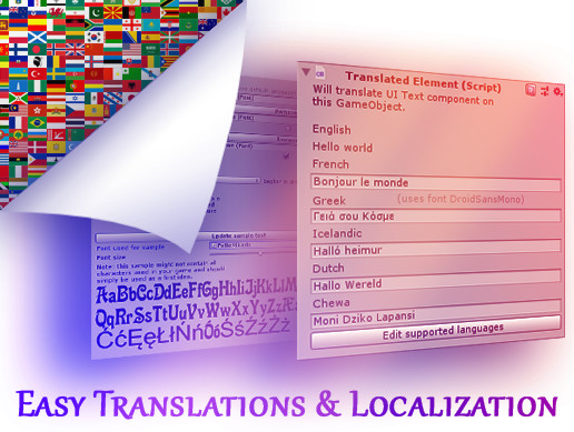 Easy Translations and Localization