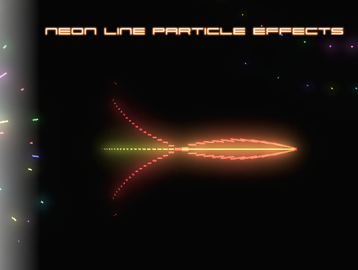 Neon Line Particle Effects