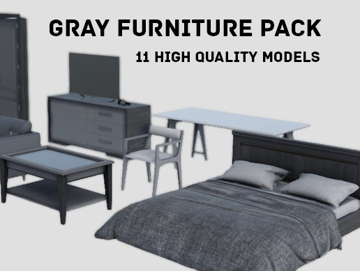 Gray Furniture Pack