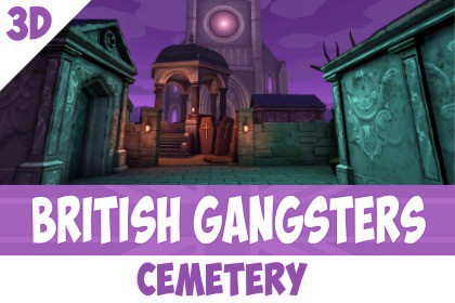British Gangsters Pack - Cemetery