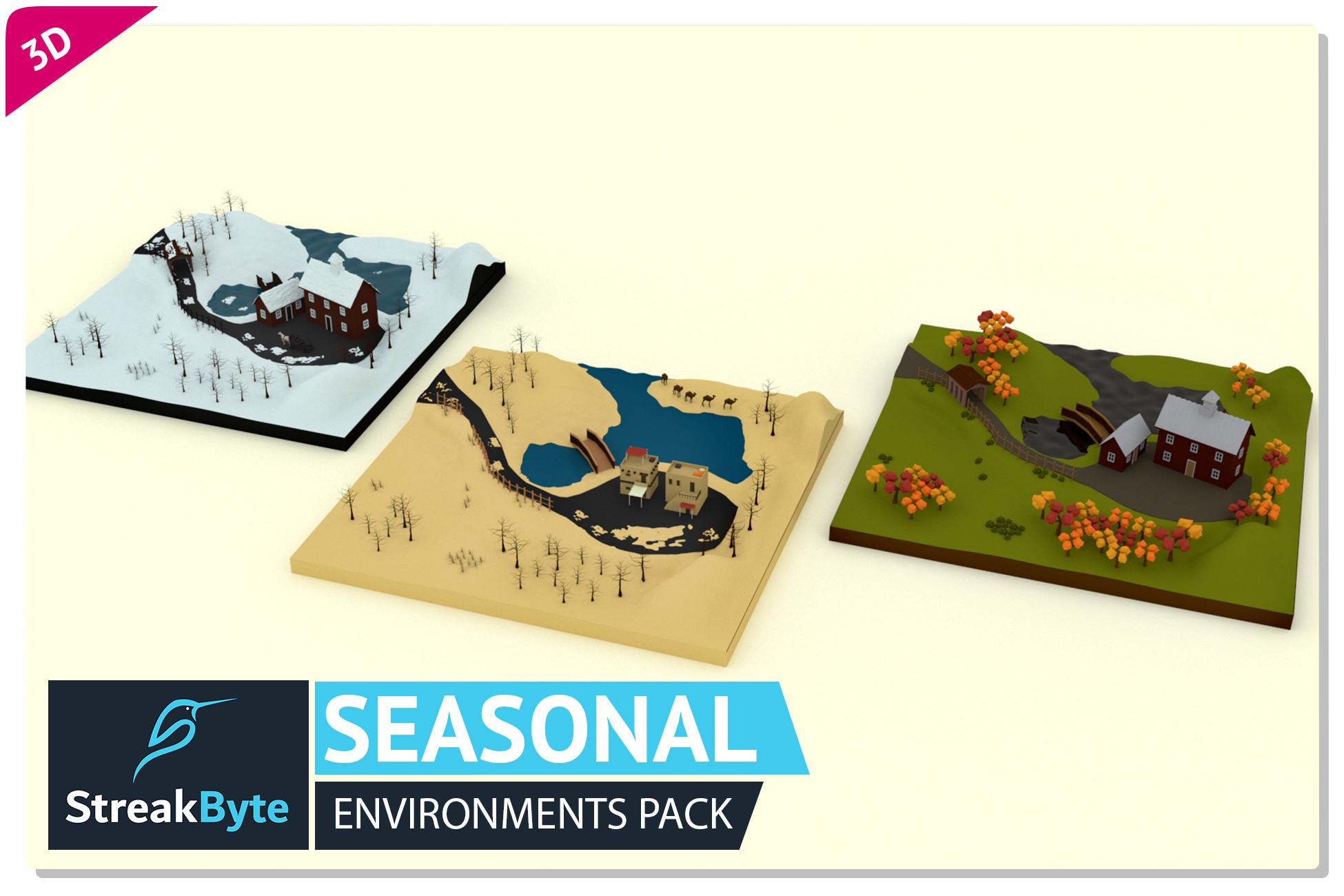 Awesome Seasonal Environments Pack