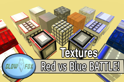 Textures Battle Arena Red vs Blue
