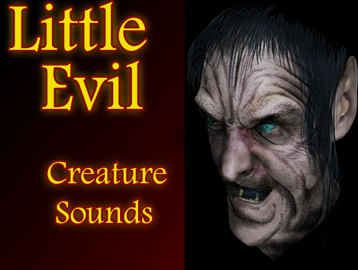 Little Evil Creature Character Sounds