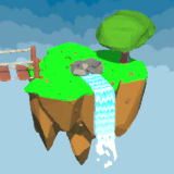 LWRP/URP Low Poly Floating Islands