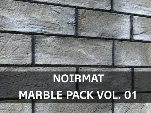 NoirMat - Marble Pack Vol. 01