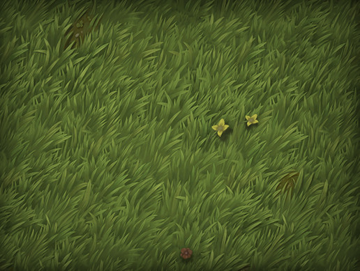 Tileable / Repeatable Stylized Grass Texture  - Asset Store