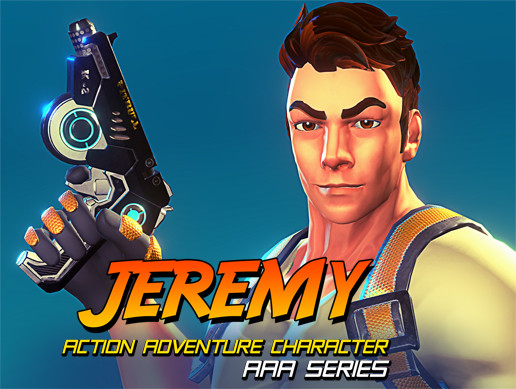 JEREMY - AAA Action Adventure Character