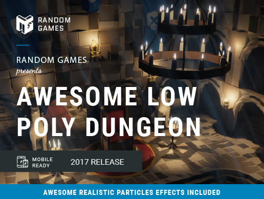 Awesome Low Poly Dungeon