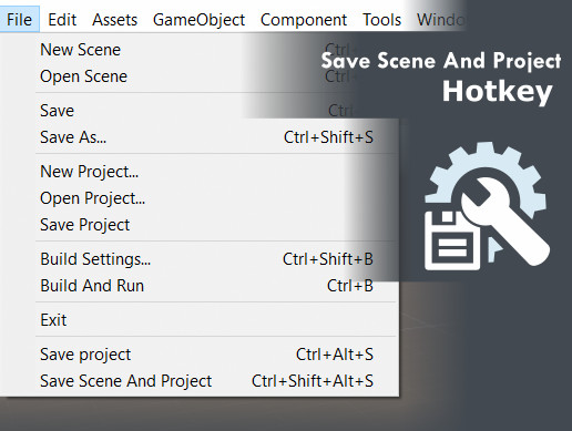 Save Scene And Project hotkey