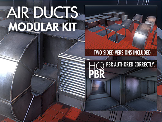 HQ Air Ducts Kit