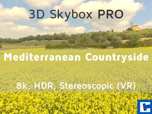 3D Skybox PRO - Mediterranean Countryside