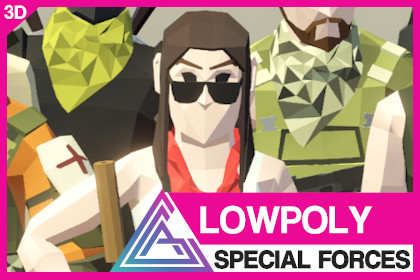 LOWPOLY - Special Forces