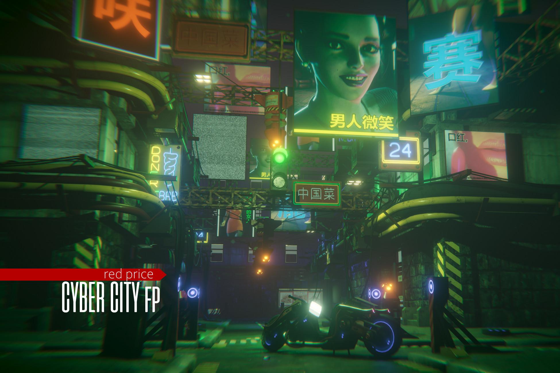 cyberpunk - Cyber City Fp