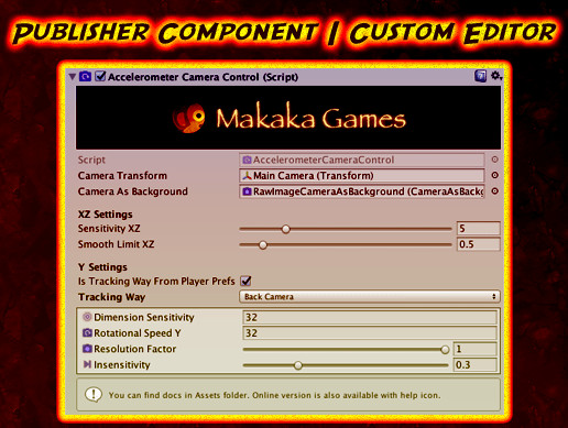 Publisher Component | Custom Editor | Asset Store Tools