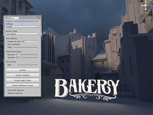 Bakery - GPU Lightmapper - Asset Store