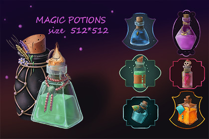 Potions Icons