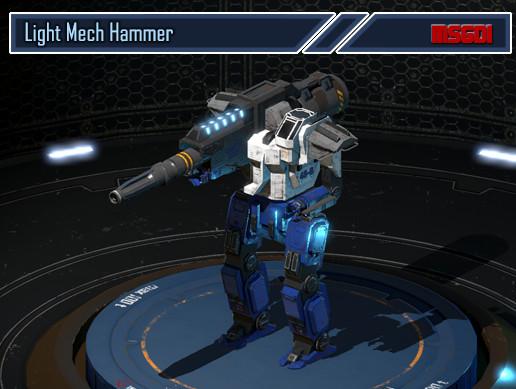 Light Mech Hammer