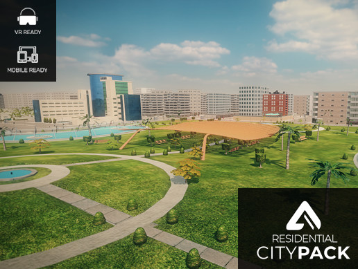 Residential City Pack - Modular & Tileable