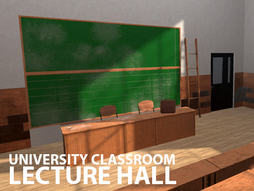 University Classroom - lecture hall