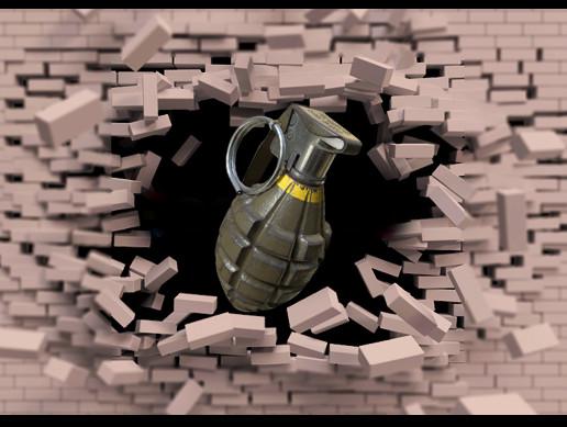 Grenades bombs physics system