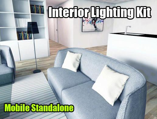 Interior lighting kit vr mobile standalone asset store