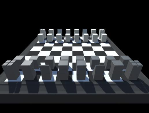 [M] Minimalistic Chess Set