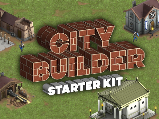 پروژه کامل یونیتی City Builder Starter Kit