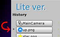 Simple Selection History Lite