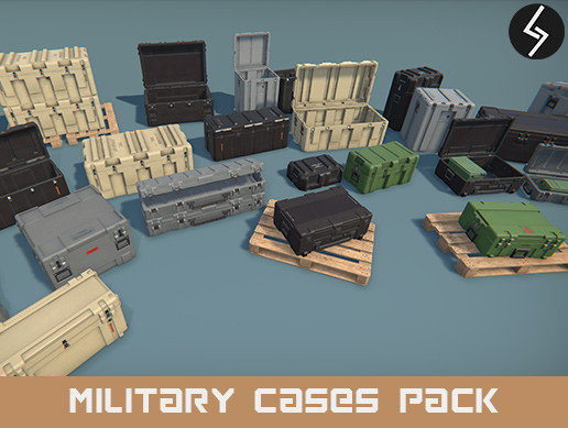 Military Cases Pack