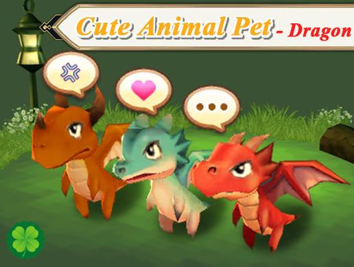 Cute Animal Pet (Dragon)