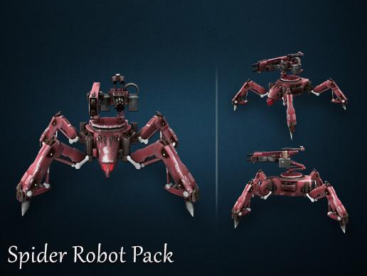 Spider Robot Pack
