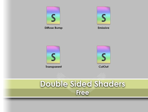 Double Sided Shaders