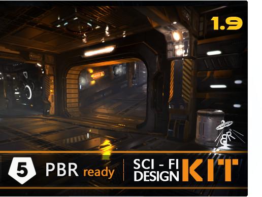 Sci fi design kit asset store