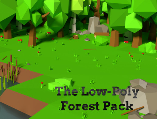 The Low-Poly Forest Pack