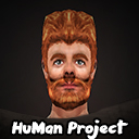 HuMan 3D Project [アニメーション/手描き]男性