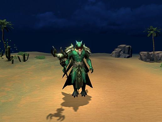 Dark Evil Mage