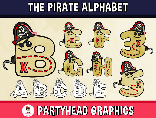 The Pirate Alphabet