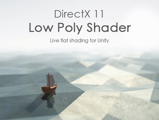 DirectX 11 Low Poly Shader - Asset Store