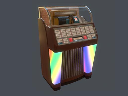 Classic Jukebox #2 - Asset Store